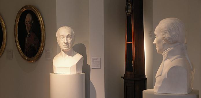Hauptgeschoss im Johannbau Dessau; Dauerausstellung des Museums für Stadtgeschichte Dessau